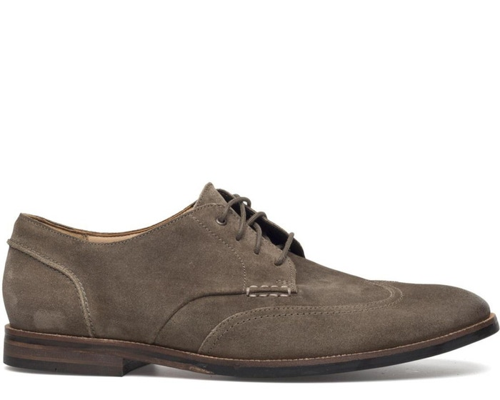 Broyd Suede Wingtip Shoes