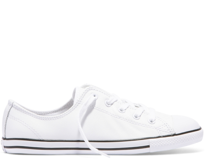 Chuck Taylor All Star Dainty Leather Low Top - Women's