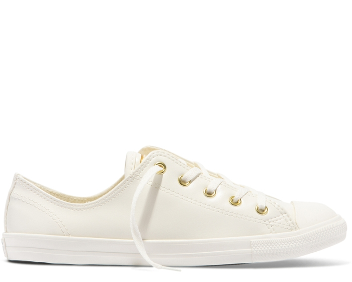 Chuck Taylor All Star Dainty Synthetic Leather Low - Women's