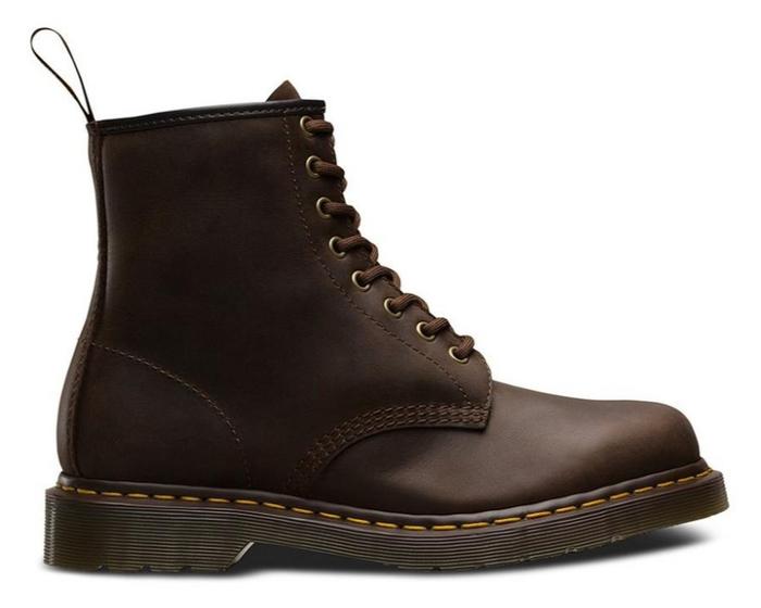 1460 Crazy Horse 8-Eye Boots - Unisex