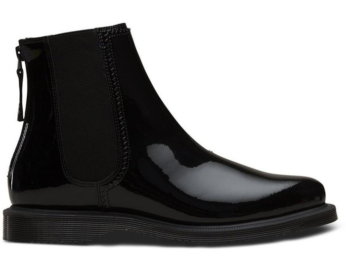Zillow Patent Chelsea Boots - Women's