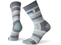 Women's Non Binding Pressure Free Striped Crew Socks