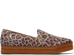 Palma Leather Wrap Leopard Print - Women's