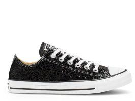 Buy Converse Chuck Taylor All Star Glitter Low - Women's - Black ...