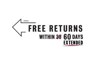 Free Returns within 60 days