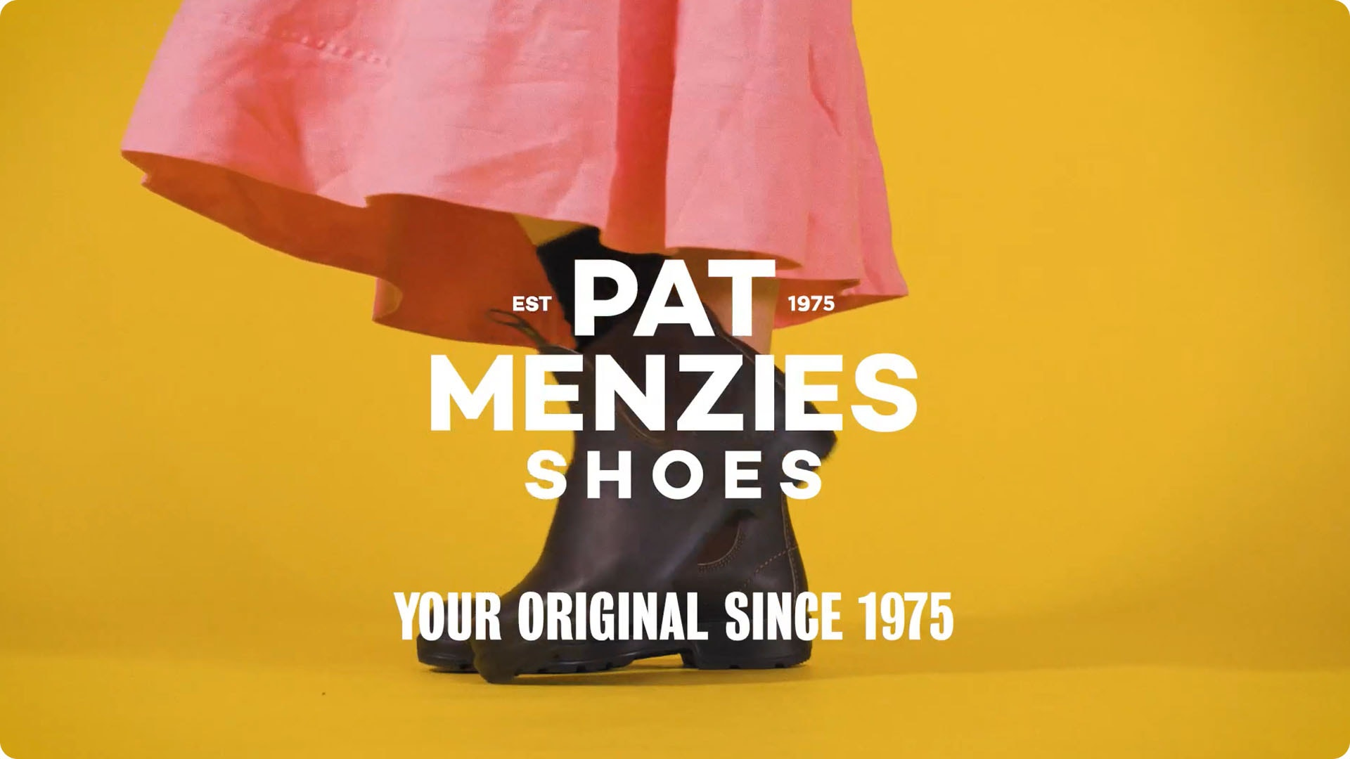 Pat Menzies - Home of Iconic Footwear Brands since 1975